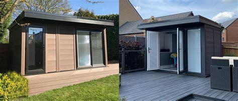 Garden Sheds Leicester - garden rooms and studios leicester composite garden