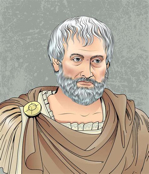 Socrates Portait In Cartoon Style Vector Stock Vector