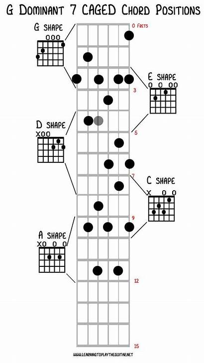 Caged Chord System Guitar Chords Shapes Acoustic