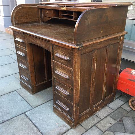 antique roll top desk antique oak roll top desk the consortium vintage furniture