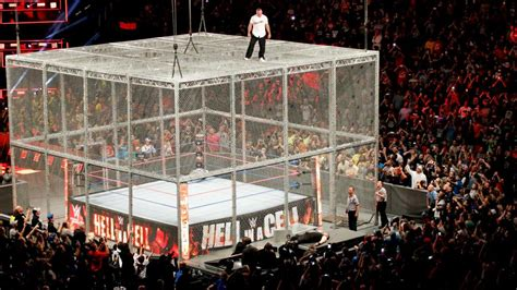 wwe hell   cell  wrestling pt