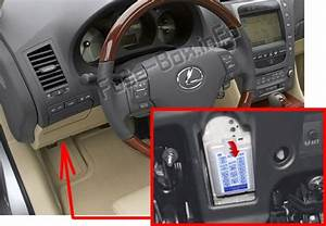 Fuse Box Diagram  U0026gt  Lexus Gs350    Gs430    Gs460  2006