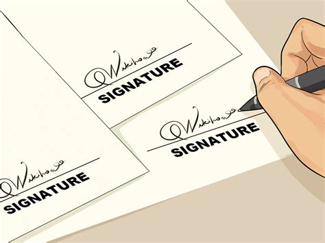 cool signature wikihow