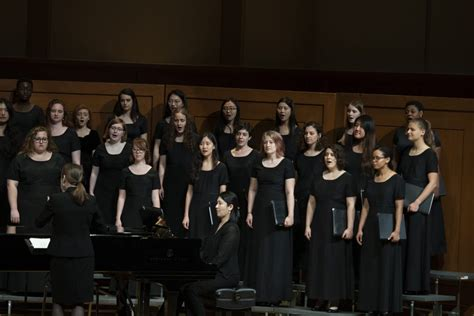 womens choral showcase department