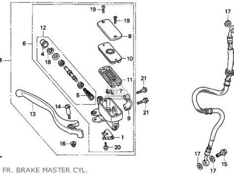 Cb750 93 Wiring Diagram by Honda Cb750 Nighthawk 1996 T Usa Parts Lists And Schematics
