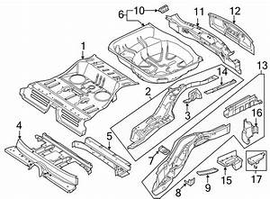 2013 Ford Explorer Crossmember  C U0026 39 Member  Floor  Rear