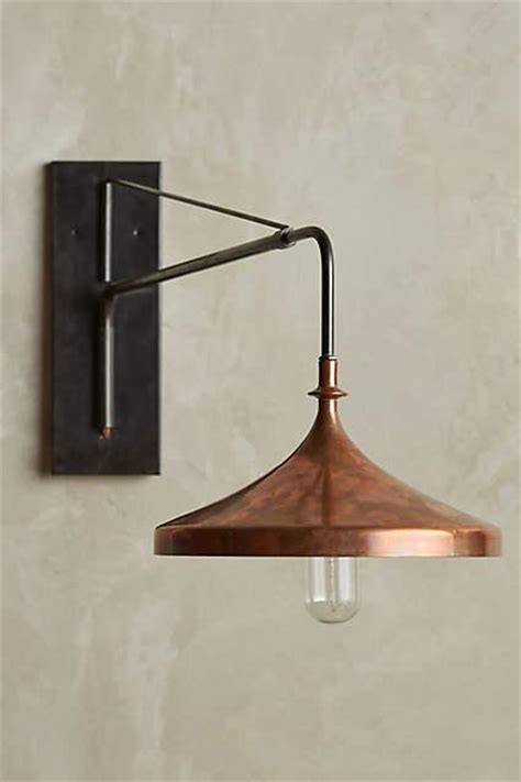 copper wall sconces rochester black sconce