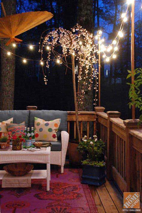 jaw dropping beautiful yard  patio string lighting ideas   small heaven