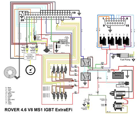 Rover Megasquirt Wiring Diagram Super Heaven