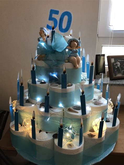 klopapier torte torten basteln diy ideen geschenke