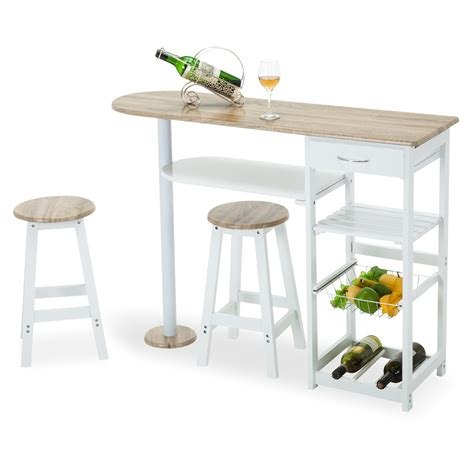 kitchen island table with storage oak white kitchen island cart trolley dining table storage