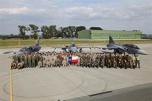 Texas Air Guard and Czechs fly together