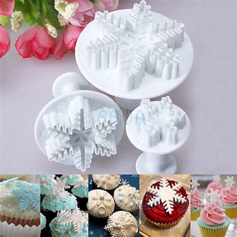 christmas fondant cake decorating cutter mould cookies