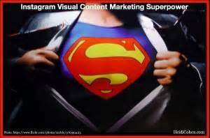 instagram  visual content marketing superpower