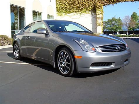 2005 Infiniti G35 Coupe 6mt Navigation Clean!