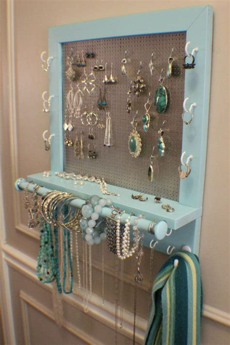 ideas  diy jewelry organizer  pinterest