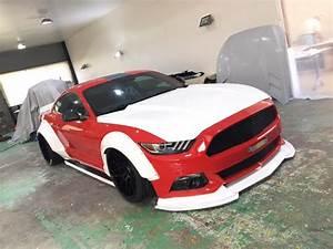 Liberty Walk Share Ford Mustang Widebody Build