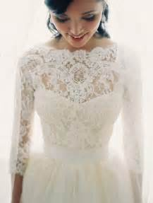 wedding gowns with sleeves 30 gorgeous lace sleeve wedding dresses