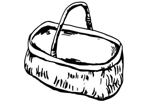 Picnic Basket Coloring Pages