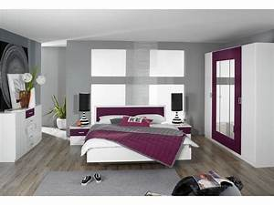 deco chambre adulte moderne With idee deco maison contemporaine