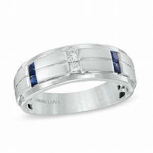 Vera wang love collection men39s 1 8 ct tw diamond and for Vera wang men s wedding rings