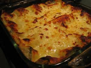 Fresh Spinach Lasagna