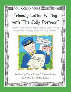 friendly letter writing with quotthe jolly postmanquot creative With books to teach letter writing