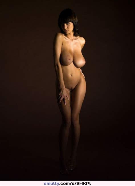 Sexy Seductive Hot Erotic Lady Brunette Kinky Wonderful Big Tits Breasts Naked