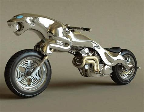 Massow Concept Cycles And Barend Hemmes Design Jaguar Bike