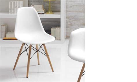 chaise salle a manger blanche chaise de salle a manger contemporaine de