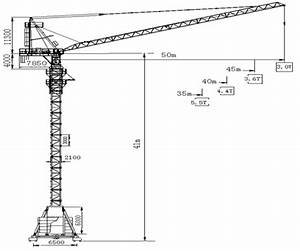 Buy 5030 12t High Efficiency Luffing Tower Crane 5030 12t
