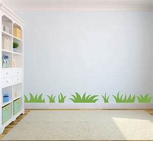 Grass Wall Decal Nature wall art for Kids by ...