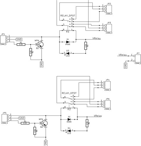 12v Relay Schematic Diagram by 2 Channel Ex2 12v Relay Board
