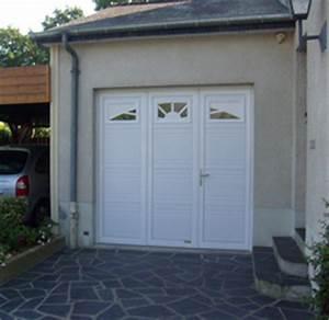 porte de garage tradition evidence battante a panneaux With porte de garage 3 vantaux