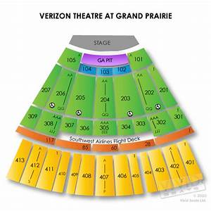 Verizon Theatre At Grand Prairie Tickets â Verizon