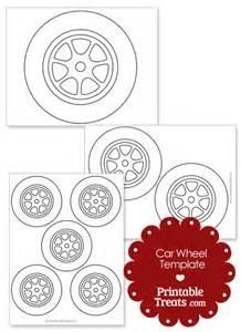 Car Wheel Template Printable