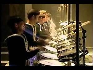 Blast! Drumline Battery Battle (the cool part) - YouTube