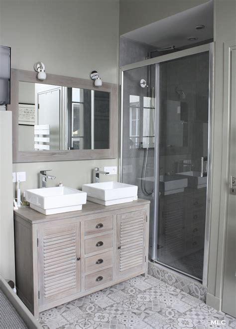lave linge dans cuisine meuble bois salle de bain archives le déco de mlc