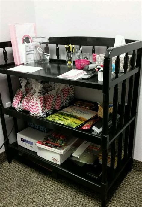 changing table organization ideas creatively repurpose and upcycle baby furniture