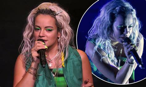 Lily Allen Makes A Triumphant Return To The Stage In