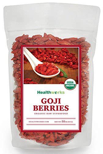 buy healthworks goji berries raw organic lb special