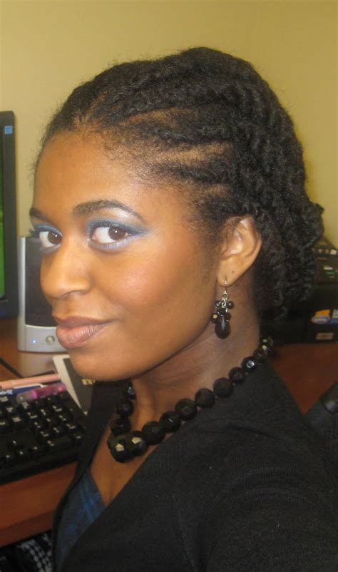 Flat Twist Ponytail Hairstyles by Flat Twist Hairstyles For Black Hairstylo