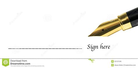 Sign Here Form Stock Photo Image Of Concept, Equipment