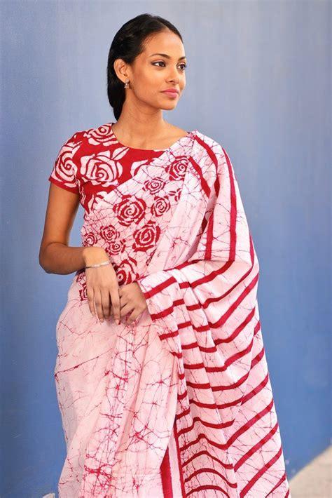 Blouse New Batik batik print sarees fashion saree saree dress saree