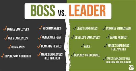 boss  leader  develop hire leaders  bosses