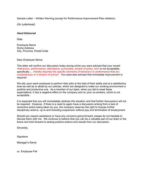 warning letter sample   documents