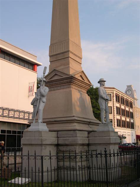 portsmouth confederate monument va historic civil war