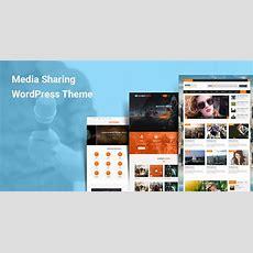 Media Sharing Wordpress Themes For Journal Magazine Media