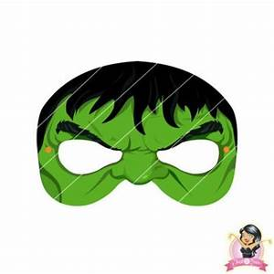 Childrens printable avengers hulk mask simply party supplies for Avengers mask template