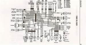 Sintegua U0026 39 S  Diagrama El U00e9ctrico Honda Xl 185